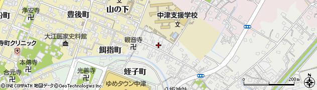 大分県中津市蛎瀬535周辺の地図