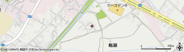 大分県中津市蛎瀬903周辺の地図