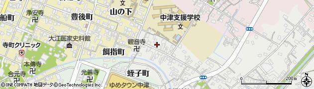 大分県中津市蛎瀬527周辺の地図
