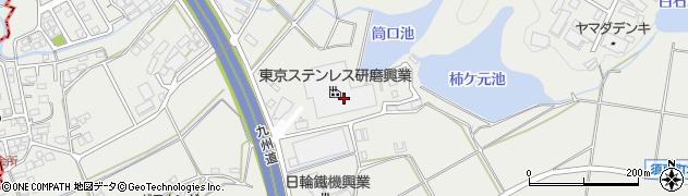 東京ステンレス研磨興業株式会社 福岡工場周辺の地図