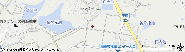 福岡県須惠町(糟屋郡)植木周辺の地図