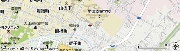 大分県中津市蛎瀬533周辺の地図