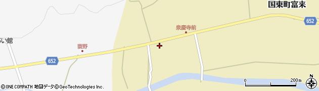 大分県国東市国東町富来2091周辺の地図