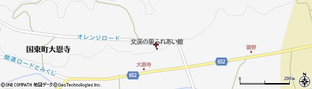 大分県国東市国東町大恩寺322周辺の地図