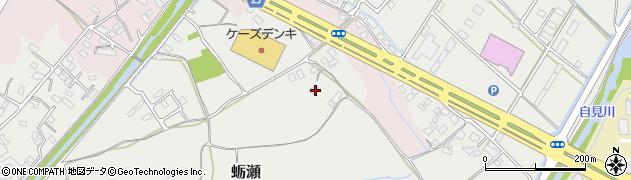 大分県中津市蛎瀬952周辺の地図