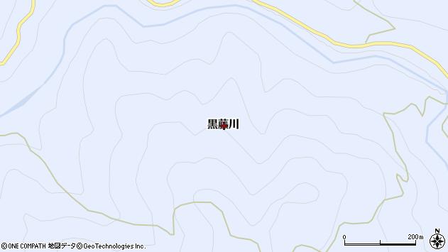 〒791-1515 愛媛県上浮穴郡久万高原町黒藤川の地図