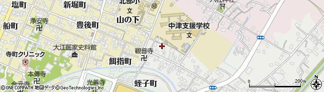 大分県中津市蛎瀬522周辺の地図