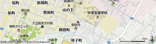 大分県中津市蛎瀬511周辺の地図