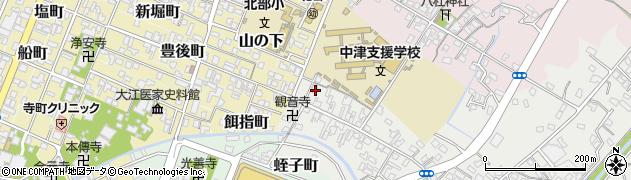 大分県中津市蛎瀬515周辺の地図