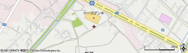 大分県中津市蛎瀬1051周辺の地図