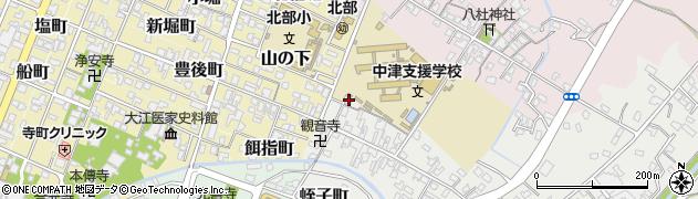 大分県中津市蛎瀬519周辺の地図