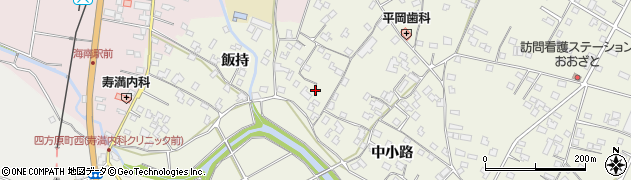 善蔵寺周辺の地図