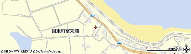 大分県国東市国東町富来浦1051周辺の地図