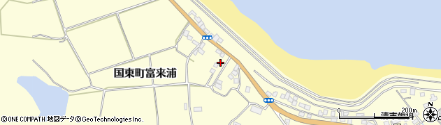 大分県国東市国東町富来浦1064周辺の地図