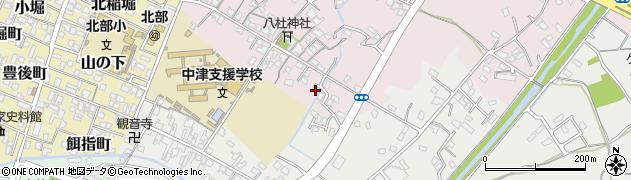 大分県中津市大塚80周辺の地図