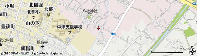 大分県中津市大塚77周辺の地図