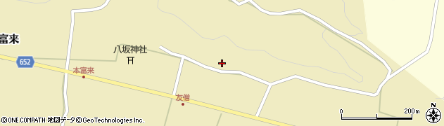 大分県国東市国東町富来1040周辺の地図