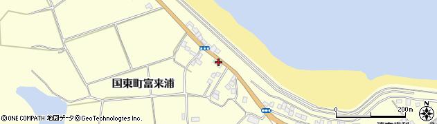 大分県国東市国東町富来浦1042周辺の地図
