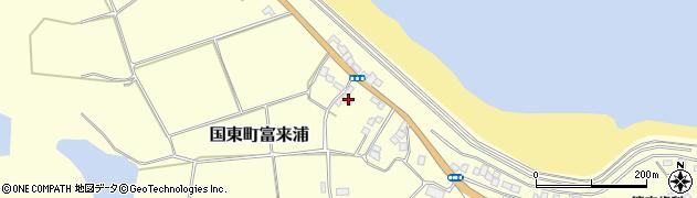 大分県国東市国東町富来浦1039周辺の地図