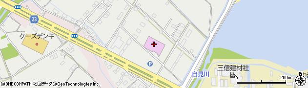 大分県中津市蛎瀬1280周辺の地図
