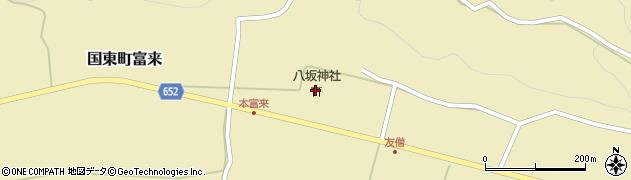 大分県国東市国東町富来854周辺の地図