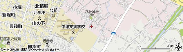 大分県中津市大塚72周辺の地図