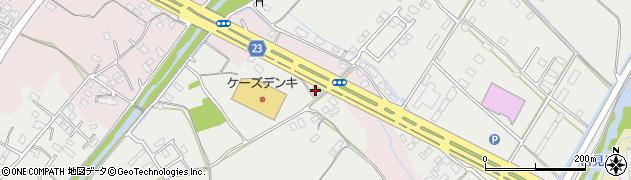 大分県中津市蛎瀬1108周辺の地図