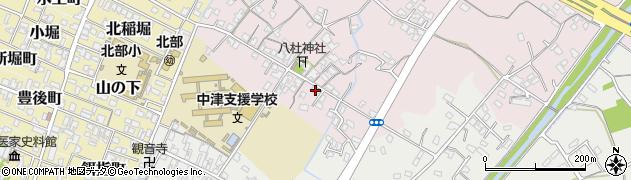 大分県中津市大塚74周辺の地図