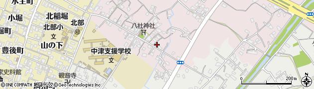大分県中津市大塚82-1周辺の地図