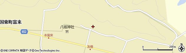 大分県国東市国東町富来1001周辺の地図