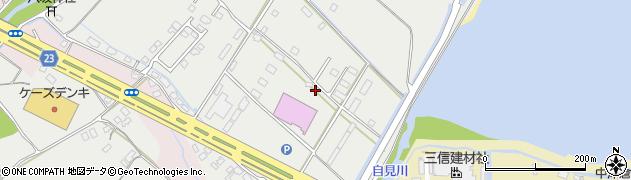 大分県中津市蛎瀬1301周辺の地図