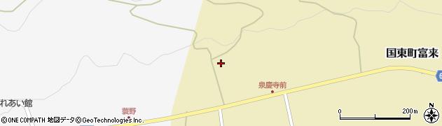 大分県国東市国東町富来1990周辺の地図