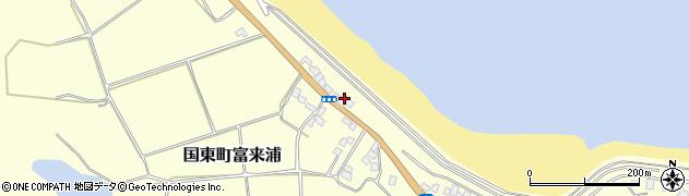 大分県国東市国東町富来浦1046周辺の地図