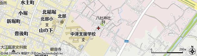 大分県中津市大塚62周辺の地図
