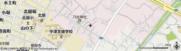 大分県中津市大塚83周辺の地図