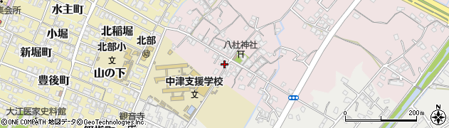大分県中津市大塚298周辺の地図