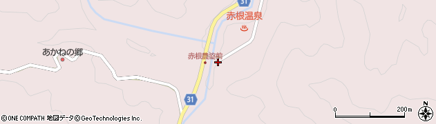 大分県国東市国見町赤根233周辺の地図