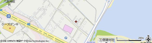大分県中津市蛎瀬1302-4周辺の地図