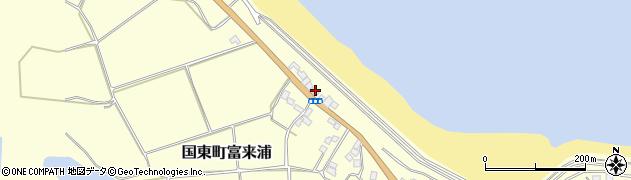 大分県国東市国東町富来浦1020周辺の地図