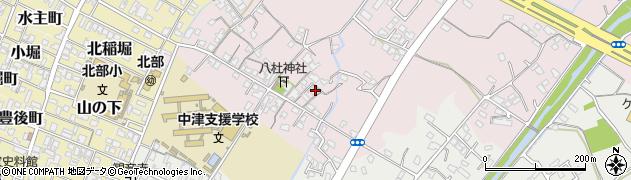 大分県中津市大塚90周辺の地図