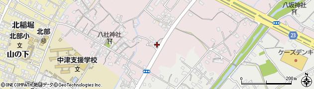 大分県中津市大塚541周辺の地図