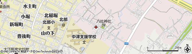 大分県中津市大塚58周辺の地図