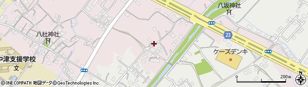 大分県中津市大塚526周辺の地図