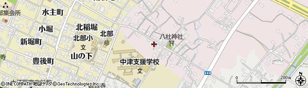 大分県中津市大塚55周辺の地図
