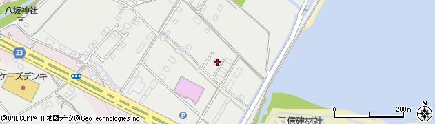 大分県中津市蛎瀬1302周辺の地図