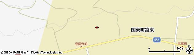 大分県国東市国東町富来1910周辺の地図