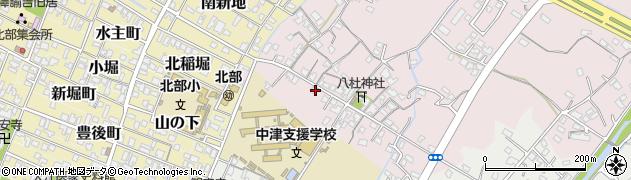 大分県中津市大塚46周辺の地図