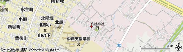 大分県中津市大塚110周辺の地図