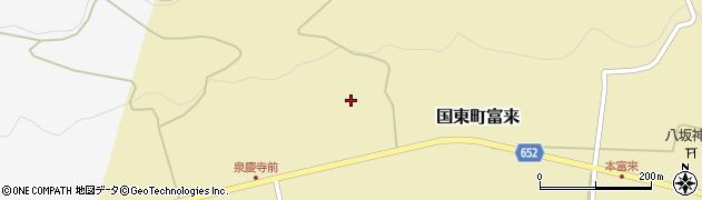 大分県国東市国東町富来1920周辺の地図