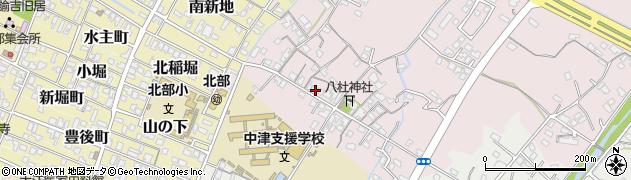 大分県中津市大塚115周辺の地図